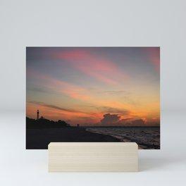 Sun Ray Sunrise  Mini Art Print