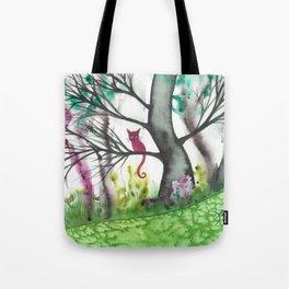 Padua Whimsical Cat Tote Bag