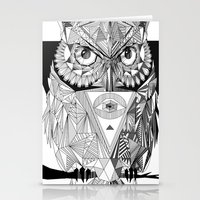 illuminati Stationery Cards featuring Illuminati by Wink