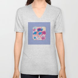 Colours of summer 1 -Abstract pattern Unisex V-Neck