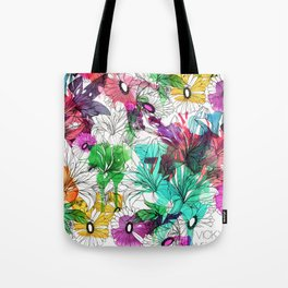 Flowers.. Tote Bag