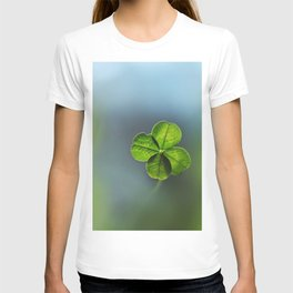 Lucky Four Leaf Clover T-shirt