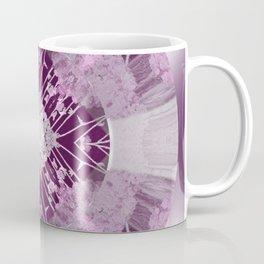 Microchip Mandala in Pink Coffee Mug