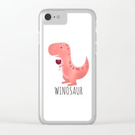 Winosaur Clear iPhone Case
