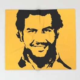 Pablo Escobar Throw Blanket