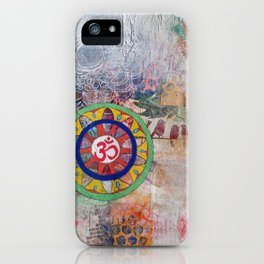 Breath and Name iPhone Case