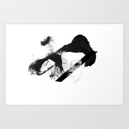 Restless Thoughts Art Print