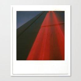 Neon Highway Canvas Print
