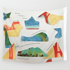 whale watching rules Wall Tapestry