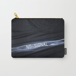 NO SIGNAL Carry-All Pouch