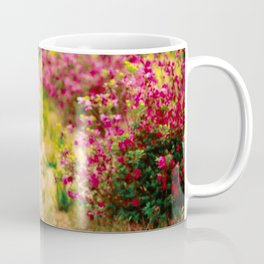 Footpath with azaleas Coffee Mug