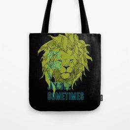 It's Like a Jungle Sometimes... Tote Bag