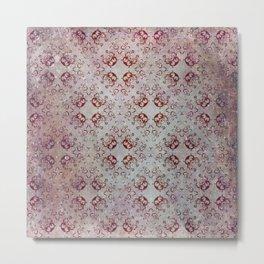 Damask Vintage Pattern 03 Metal Print