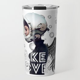 FAKE LOVE (Tear) Travel Mug