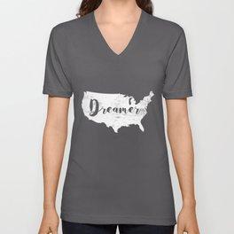 Dreamer USA Unisex V-Neck