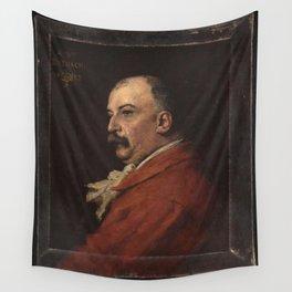 Jules-Élie Delaunay - Portrait de William Busnach Wall Tapestry