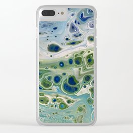 Sea Turtle IV Clear iPhone Case