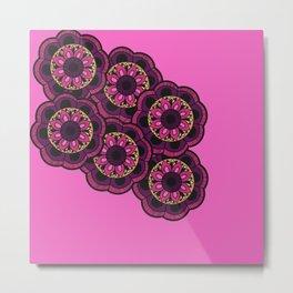 The 6th Flower Metal Print