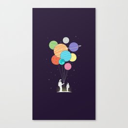 Space Gift Canvas Print