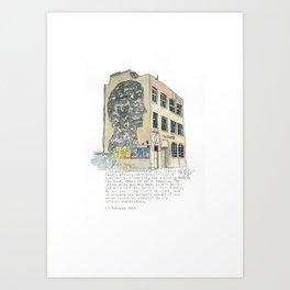 1 Jessie Street. Art Print