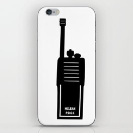 P.D.O.C. Walkie Talkie 3D comic version iPhone Skin