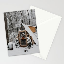 Snowy Coop Stationery Cards