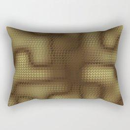 Rattlesnakes Love Geometry Rectangular Pillow