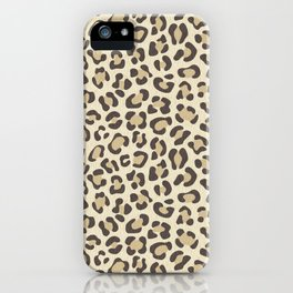 Leopard - Neutral Colors iPhone Case