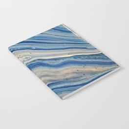 Blue swirls 879 Notebook