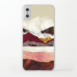 Melon Mountains Clear iPhone Case