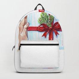 Cadeau du Nouvel An pour les proches. Backpack