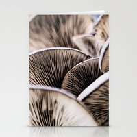 mushrooms Stationery Cards featuring Mushrooms by Kathy Dewar