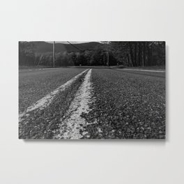 Long Roads Metal Print