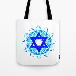 Jewish Star Tote Bag