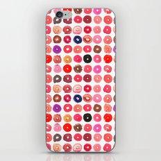 Lipstick Donuts iPhone Skin