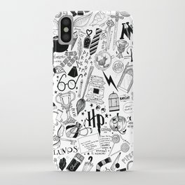 Hogwarts, Hogwarts, Hoggy Warty Hogwarts iPhone Case