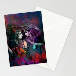 Radha Krishna- the divine Stationery Cards