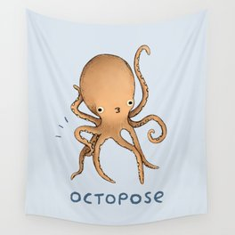 Octopose Wall Tapestry