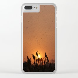 Sun by Snow 1 Clear iPhone Case