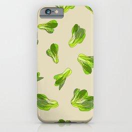 Lettuce Bok Choy Vegetable iPhone Case