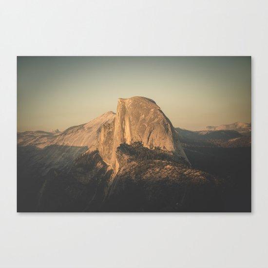 Half Dome II Canvas Print