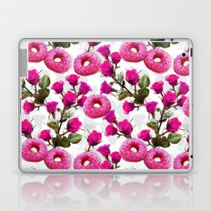 Roses are Pink, Donuts are Delicious Laptop & iPad Skin