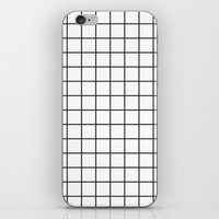 grid iPhone & iPod Skins featuring GRID by Anna Lindner