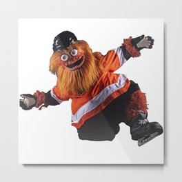 Gritty Flyers Mascot Metal Print