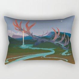 Becoming Earth Rectangular Pillow