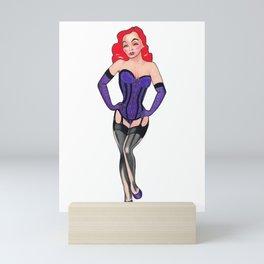 Redhead Mini Art Print