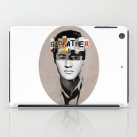 the godfather iPad Cases featuring Godfather Mix 2 white by Marko Köppe