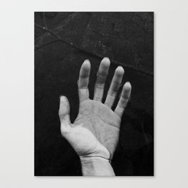 Hand in wather Canvas Print
