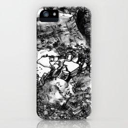 Desert_rocks iPhone Case