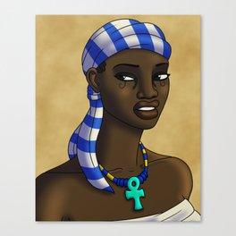 Egyptian Hair Protection Canvas Print